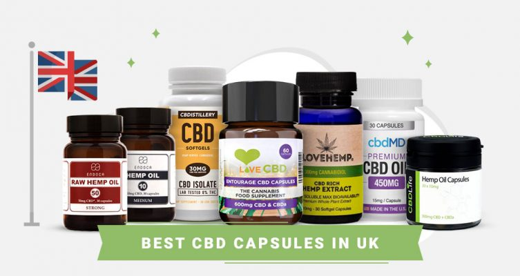 Best CBD Capsules in UK
